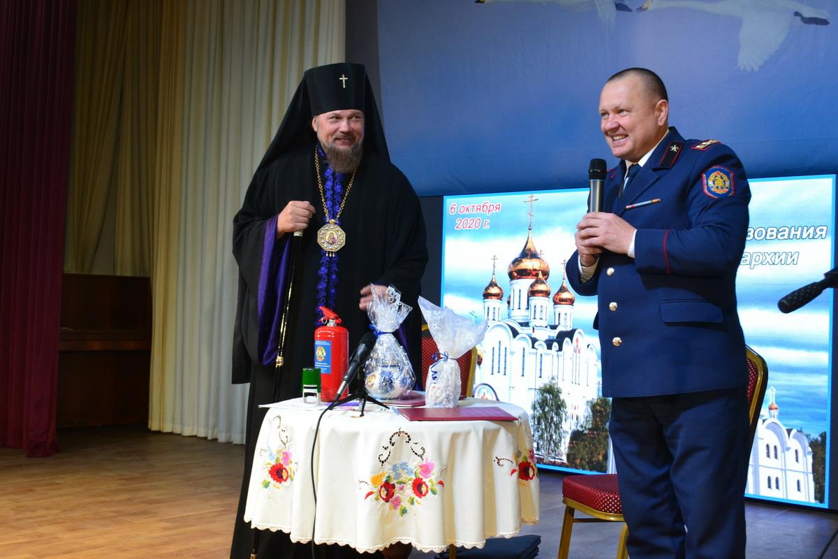 Состоялось подписание соглашения о сотрудничестве между Коми республиканским отделением ВДПО и Сыктывкарской Епархией Русской Православной Церкви